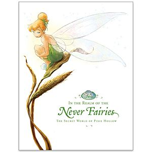 In the Realm of the Never Fairies: The Secret World of Pixie Hollow Book