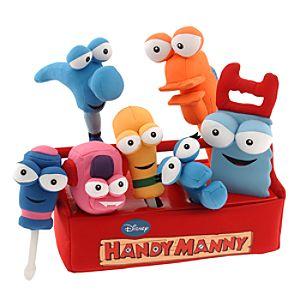 Handy Mannys Plush Tool Kit