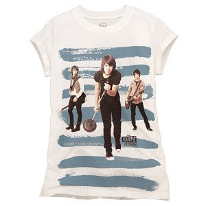 Capped Sleeve Camp Rock Tee