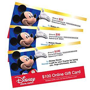 DisneyStore.com Online Gift Card