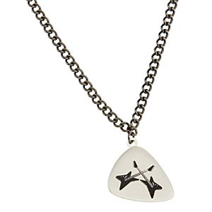 Guitar Pick Camp Rock Necklace